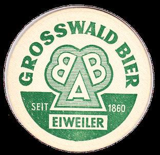 Bierdeckel BAB Grosswald Brauerei Alexander Bauer