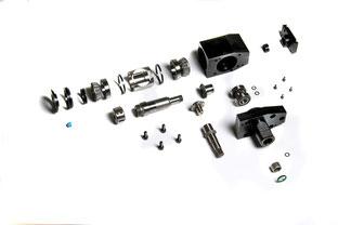 Reparaturservice angetriebene Werkzeuge: Explosionsfoto AGW
