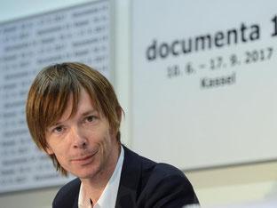 Adam Szymczyk ist der neue künstlerische Leiter der documenta 14. Foto: Uwe Zucchi