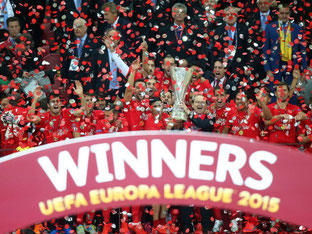 Der FC Sevilla hat das Finale gegen Dnipro Dnipropetrovsk gewonnen. Foto: Leszek Szymanski