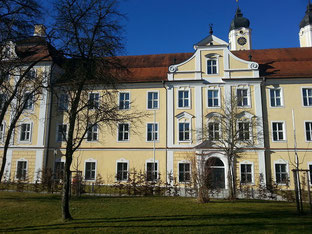 Ein Teil des Kloster Roggenburg
