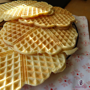 Apfel Zimt Waffeln - Low Carb
