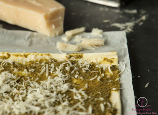 Pesto und Grana Padano