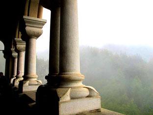 markig - der Blick vom Balkon hinüber zu den Allgäuer Bergen