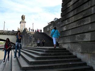 Treppe am Pont ´lena