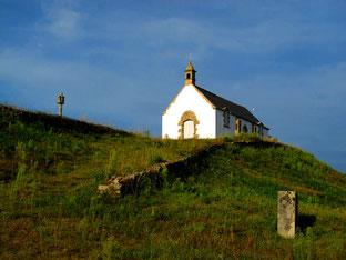 nur einmal im Jahr (1. Sept.) findet hier eine Messe statt