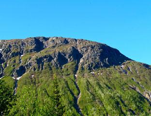 wunderschöne Granitberge