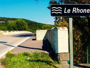 an der Rhone - hinter Le Pont de Beauvosier