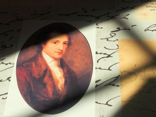 handschriftliche Manuskripte von Goethe