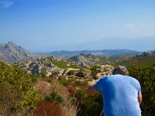 doe korsische Landschaft hat viele Gesichter