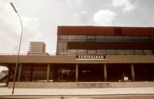 Zentalbad Gelsenkirchen erbaut Ende der 60n Jahre  - Foto: Heinz O. Gelsenkirchener Geschichten