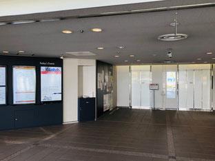 KRP4号館エレベーターホール