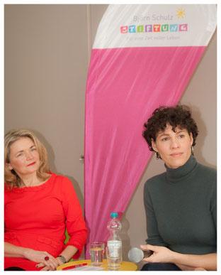 v.l. Katrin Hartig, Jasmin Gerat