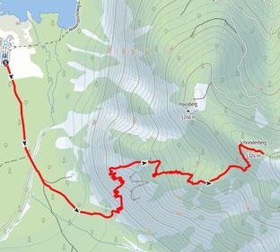 Schneiderberg, Almtal, Almsee, Wanderung