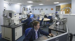 Rasterelektronenmikroskop am TWI