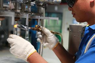 Industrielles Glasschweißen