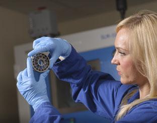Selectives Laser-Schmelzen am TWI-Technologiezentrum in Yorkshire.