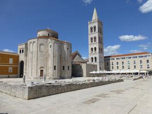 Zadar bei Yacht-Urlaub