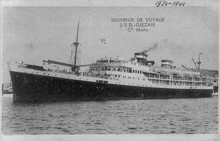 L'El-Djézaïr avant sa transformation en croiseur auxiliaire