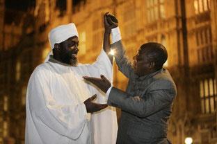 Imam Muhammad Ashafam and Pastor James Wuye