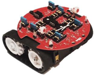 Zumo Robot Chassis mit analoger Steuerung von VARIOBOT