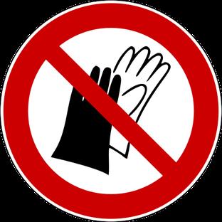 Beim Rührreibschweißen im Bereich von drehenden Teilen – wegen der Einzugsgefahr – niemals Handschuhe tragen