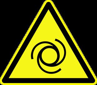 Warnung vor automatischem Anlauf beim Rührreibschweißen