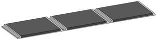 Rührreibgeschweißte Bimetallplatten mit Nahtvorbereitung zum Schmelzschweißen
