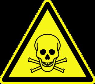 Warnung vor giftigen Stoffen beim Rührreibschweißen