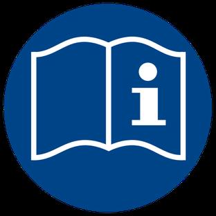 Gebrauchsanweisung beachten beim Rührreibschweißen (ersetztes oder zurückgezogenes Zeichen)