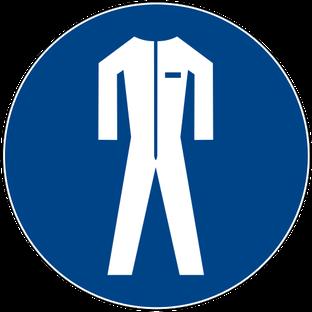 Schutzkleidung benutzen beim Rührreibschweißen