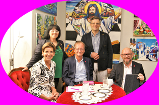 Indra Collini, Georgia Kazantzidu, Helmut Hofer-Gruber, Matthias Laurenz Gräff, Bernd Pinzer (Foto: privat)