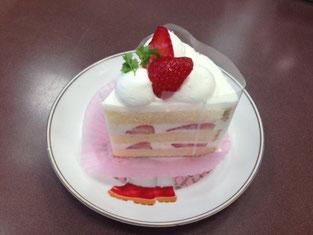 写真は、第1位の「ストロベリーショートケーキ」