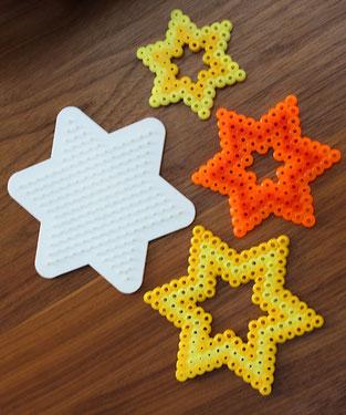 Spielwaren-Kroell, Hama, Bügelperlen, Weihnachten, Sterne