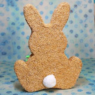 Spielwaren-Kroell, Foam Clay, Wolkenschleim, basteln, Bastelidee, DIY, Ostern, Easter, Kartonage, Figur