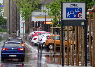 16. Mai 2016 - Eine Wohnstrasse für Autos