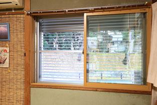 透明ガラスに入れ替えプラマードUで断熱