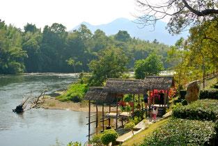 River Kwai kanchanaburi, Thailand