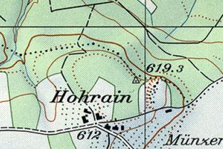 Landeskarte von 1970
