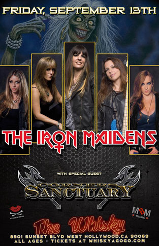 Corners of Sanctuary Release Teaser Video for New Single, iron Maidens, Rockers And Other Animals, Rock News, Rock Magazine, Rock Webzine