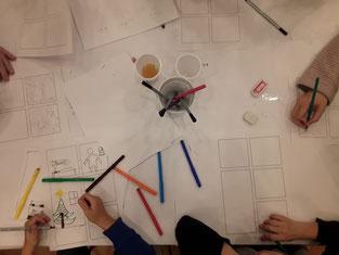 Unsere Künstler brauchen nicht viel Inspiration - hier sind echte Kreative am Werk!