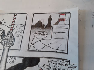 ...machen aus jeder weißen Seite einen Comic!