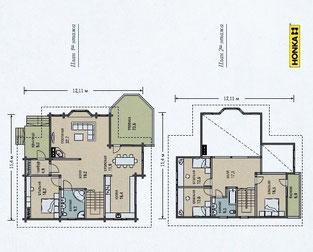 план дома хонка 220 кв м