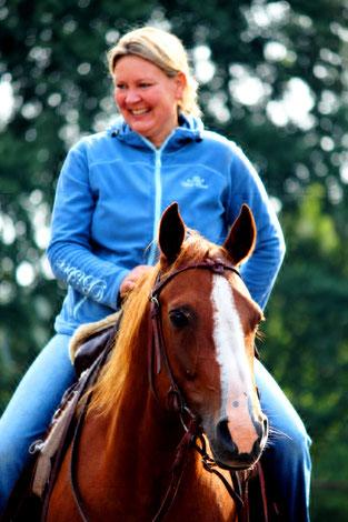 Beim Westernreiten sollen Pferd und Mensch Spaß haben