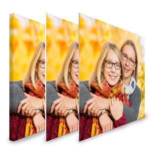 Wir drucken Ihr Bild als Leinwand-, Aluminium- oder Forexbild