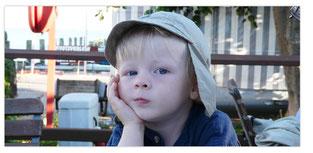 Bildvorlage Kind für Bildcollage