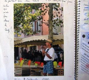 le marché de  Fréjus en Provence