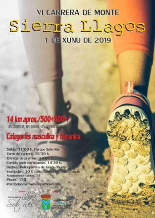 VI CARRERA DE MONTE SIOERRA LLAGOS - Soto de Rei, 01-06-2019