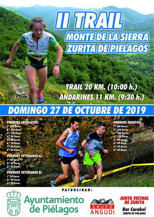 II TRAIL MONTE DE LA SIERRA - Zurita de Pielagos (Cantabria), 27-10-2019