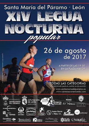 XIV LEGUA NOCTURNA DE STA- MARIA DEL PMO. - Sta. Maria del Pmo. 26-08-2017